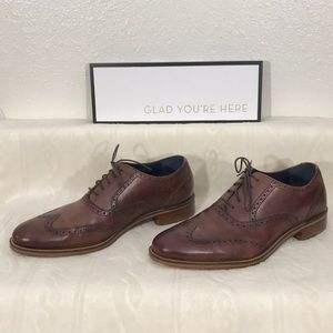 Cole Haan Brown Madison Oxford Shoes sz 10M